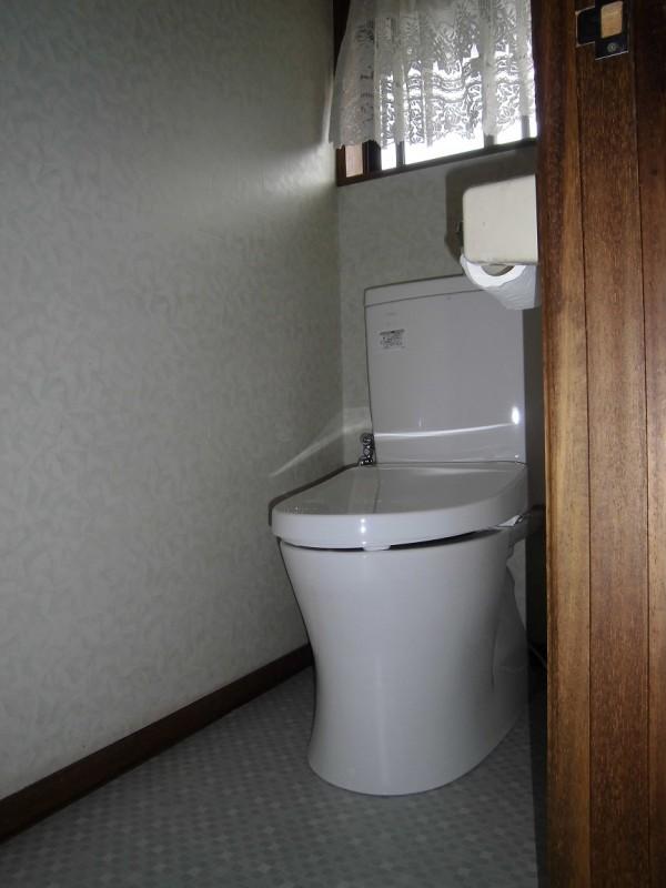 昭島市郷地町 トイレ 施工後