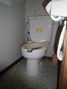 昭島市郷地町 トイレ 施工前